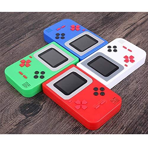 Zurück-konsole (Altsommer Handheld Spielkonsole mit 2 Zoll Spielkonsole für Kinder, Retro Tragbare Spiele Konsolen inkl. 268 Spiele,Zurück in die Kindheit für Kinder Geburtstagsgeschenke (Rot))
