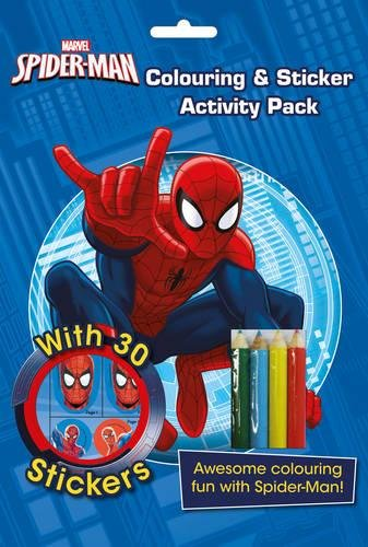 Marvel Spider-Man Colouring and Sticker Activity Pack: Awesome Colouring Fun with Spider-Man!