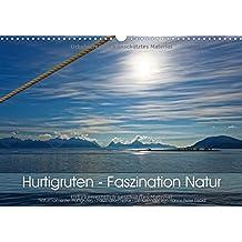 Hurtigruten - Faszination Natur (Wandkalender 2018 DIN A3 quer): Hurtigruten - faszinierende Naturlandschaften (Monatskalender, 14 Seiten ) (CALVENDO Natur)