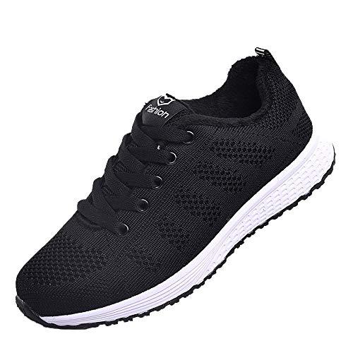 BaZhaHei Yoga Sneakers Donna Colori Misti,Eleganti Scarpe Sportive Ragazza Casual Traspirante Soft Slip-On Scarpe da Corsa Running Shoes con Sportive All'aperto