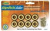 Slipstick - Protector del suelo antideslizantes de sillas y muebles cb255o, talla 25 mm