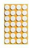Filzgleiter selbstklebend KREIS, QUADRAT und RECHTECK für Bodenschutz, Kratzschutz oder Stuhlgleiter für Parkett- und Laminatboden   verschiedene Größen und Farben (rund   20 mm   28 Stück)