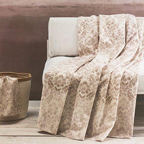 Telo multiuso granfoulard d' arredo zucchi basics copridivano copriletto matrimoniale cm 270 x 270 foulard (golden city col. 6)