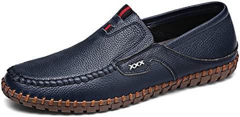 Hombres Casual Zapatos De Cuero Moda Zapatos De Guisantes Moda Zapatos De Conducción