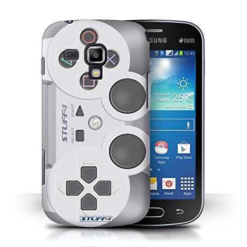 Kobalt® Imprimé Etui / Coque pour Samsung Galaxy S Duos/S7562 / Xbox conception / Série Console (jeux vidéo) Playstation PS1
