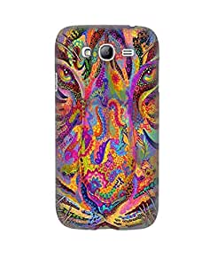 Pick Pattern Back Cover for Samsung Galaxy Grand I9082 (MATTE)