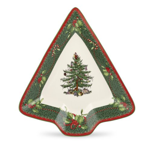 Spode Christmas Tree Annual 2011 Tree Dish, 8-Inch, Set of 2 by Spode Spode 8 Zoll