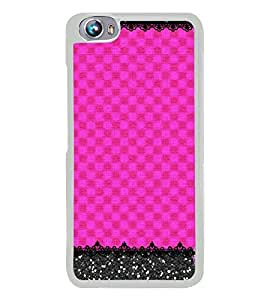 Fuson Pink Color Pattern Designer Back Case Cover for Micromax Canvas Fire 4 A107 (Ethnic Pattern Patterns Floral Decorative Abstact Love Lovely Beauty)