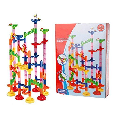kofun-DIY Ball Track Bausteine Konstruktion Marmor Race Laufen Labyrinth Kinder Spielzeug (Gebäude Spielzeug)