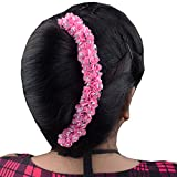 Kabello Reuseable Hair Gajra (Pink)