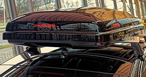 Kamei Dachbox Oyster 450 schwarz-metallic - 3
