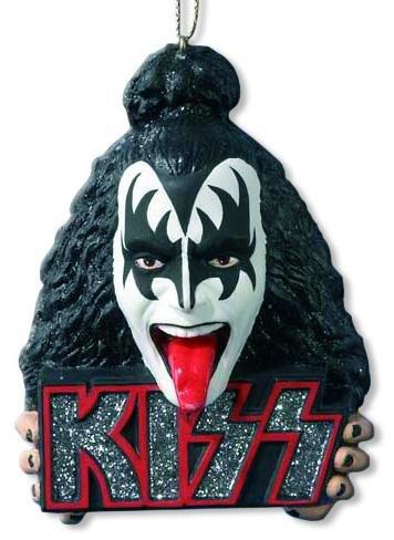 Kiss - Demon Head Hanging Ornament