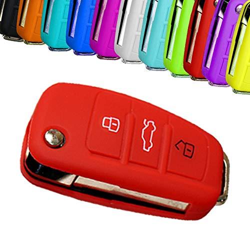 WOQUi 3/touches SmartKey Cl/és de Voiture /Étui Coque cl/é en cuir