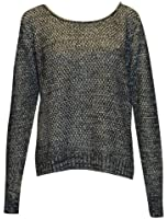 MyMixTrendz Ladies Knitted Jumper W/ Long Full Sleeve and Zip Fastening Along Back (P210)