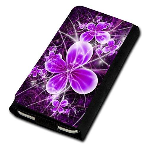 Book Style Flip Handy Tasche Case Schutz Hülle Foto Schale Motiv Etui für Medion Life E4503 - Flip U4 Design2
