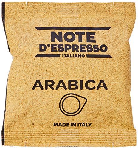 Note D'Espresso - Bolsitas de café arábica monodosis, 7g caja de 150 bolsas de papel