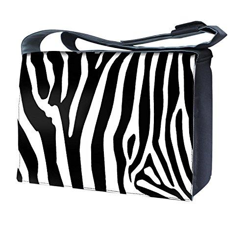 Luxburg uk-nb-sb-5009–17–05–01Design Messenger Tasche für 17Laptop mit Schultergurt–Zebra Streifen - Fashion Zebra-streifen