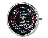 Sunartis Thermomètre pour Four et de Cuisson avec revêtement en téflon