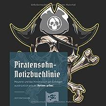 Piratensohn-Notizbuchlinie: Meuterei und das Hinterlassen von Einträgen ausdrücklich erlaubt (Variante: yellow)