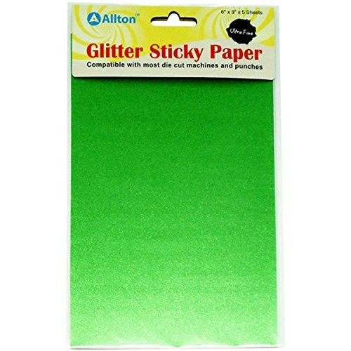 Ultra Fine Glitter Sticky Paper 6