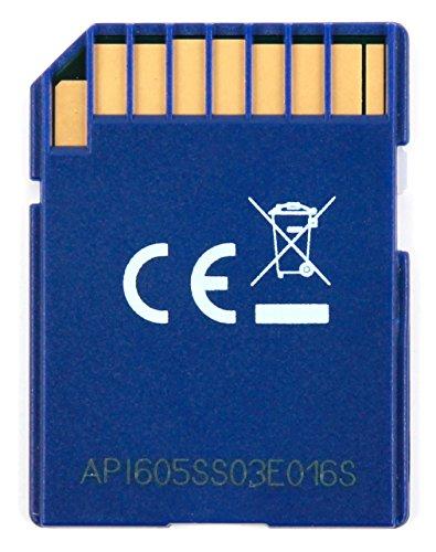 Speicherkarte SDHC mit 16GB mit ultraschneller Geschwindigkeit dank UHS-I – ideal für Nikon Spiegelreflex-Kameras (D-Serie) – zum Speichern und Übertragen von Fotos & Videos