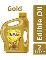 Saffola Gold Edible Oil, Jar, 2L