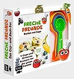 Freche Freunde: Das freche Cup- und Back-Set – Mit 5 Cups und 20 frechen Rezepten für die ganze Familie: Kinderleicht