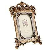 Homyl Vintage Style Resin Flower Photo Frame Picture Frame Valeninte's Gifts