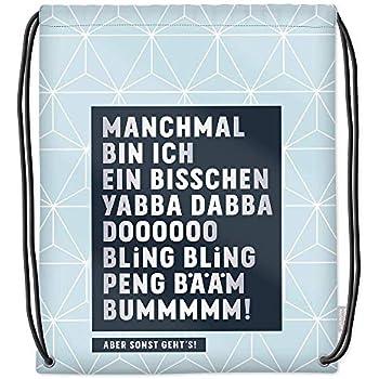 """Baumwoll Turnbeutel mit Spruch Motiv /"""" Dieser Zustand ist nicht tanzbar /""""  Bag"""