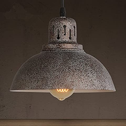 FEI&S American industrie creative retrò ombra di antiquariato bar lampadari lampade lampadario personalità rottami di metallo lampadari e cafe bar ristorante 21*17cm,con il migliore servizio