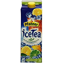 Pfanner Eistee Lemon-Lime, 2 l