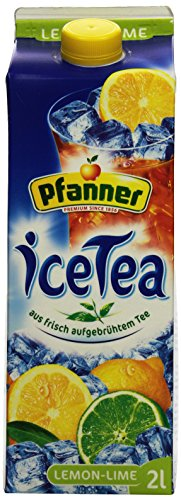 Pfanner Eistee Lemon -Lime, 6 x 2 l Packung