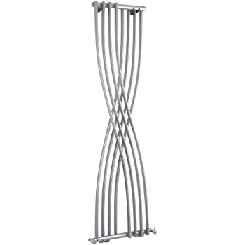 Hudson Reed HLS94 1775 x 450 mm High Gloss Xcite Designer Radiator - Silver