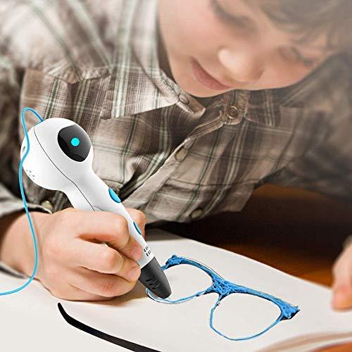 3D Stifte für Kinder, Nulaxy 3D Druckerstifte Roboter Pen mit 6 Farbe 1.75mm PLA Filament Gutes Kinderspielzeug, Geburtstags-und Weihnachtsgeschenke und praktisches Werkzeug für 3D-Drucker Besitzer (Stifte) - 4