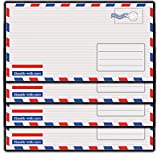 Briefumschlag Flugticket Briefumschläge Kuverts Umschlag Umschläge Pass 10 Stück Für Einladungskarten, Reiseunterlagen,