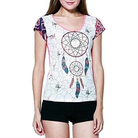 Sure - Camiseta - manga 3/4 - para mujer