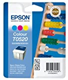 Epson T0520 Tintenpatrone Rechenschieber, Multipack 3-farbig