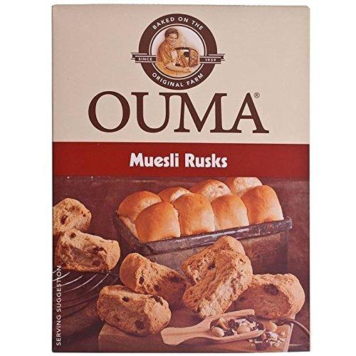 Ouma Biscottes De Muesli 500G - Paquet de 6