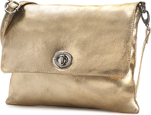 CNTMP, Borsa a tracolla donna Oro (oro)