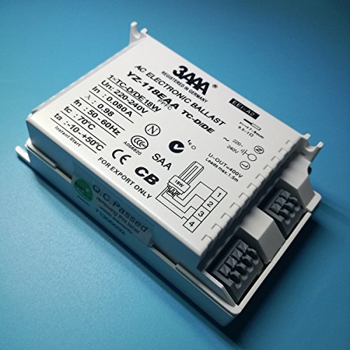 3AAA HID 135E/220–24036W Professionelle ECG hid-ecg Elektronische Vorschaltgerät für HID Lampen HCI/CDM/HQI/HPI/MHN 35W × 1T Leuchtstofflampe & #-; 110× 75× 30mm - 4