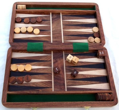 Royal Backgammon set - Fantastic Board Game of Strategy