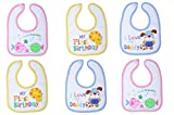 #3: Tinny Tots Baby Bibs Apron Combo Pack Of 6