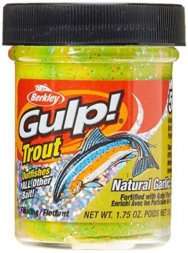 Gulp Natürlicher Knoblauchduft Forellenteig Angelköder, Fishing Gear, Rainbow Candy -