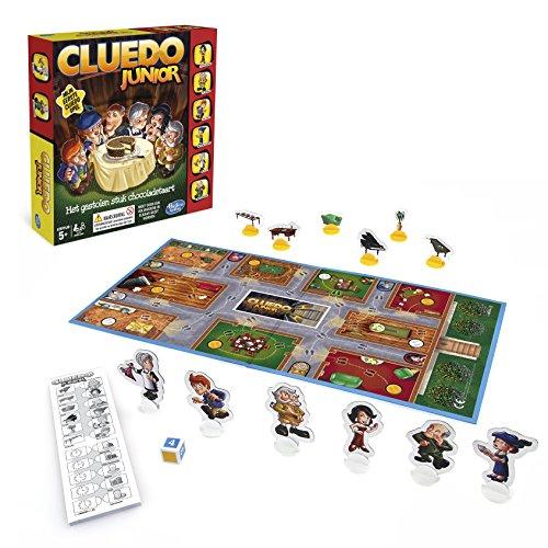 Hasbro Spiele B0335100 - Cluedo Junior, Familienspiel