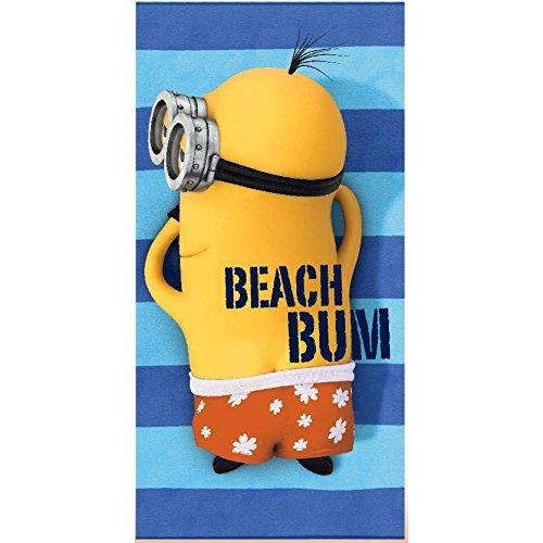 Minions–& telo da spiaggia asciugamano 70x 140cm articolo originale