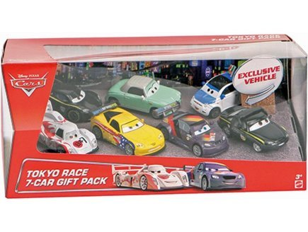 Coffret cars tokyo race 7-car gift pack - 7 voitures - véhicule miniature exclusive