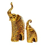 Ornaest Elephant Ornamente, Ein Paar europäische Hausdekorationen, Geschenke, Wohnzimmer, Elefanten, Objects.456Ranment Home Beautiful Home Decoration