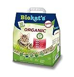 Lettiera Biokat's Organic 10 lt - Lettiera agglomerante per gatto, con...