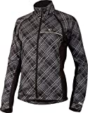 Pearl Izumi Elite Barrier Damen Convertible Fahrrad Wind/Regenjacke/Weste Samurai Plaid 2014