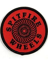 Spitfire Swirl Red/Black parche